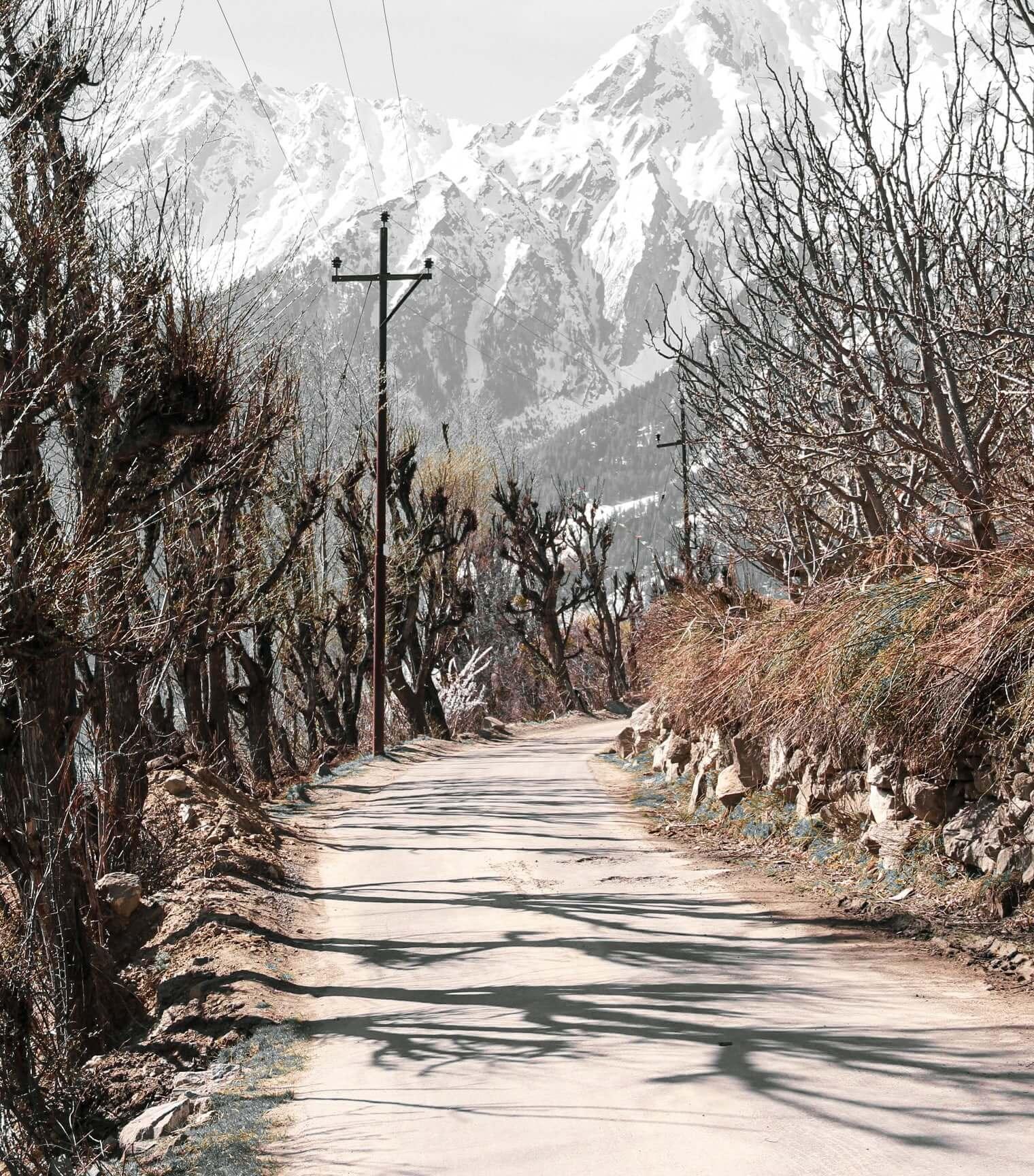 Kalpa - Towards village Kashmir