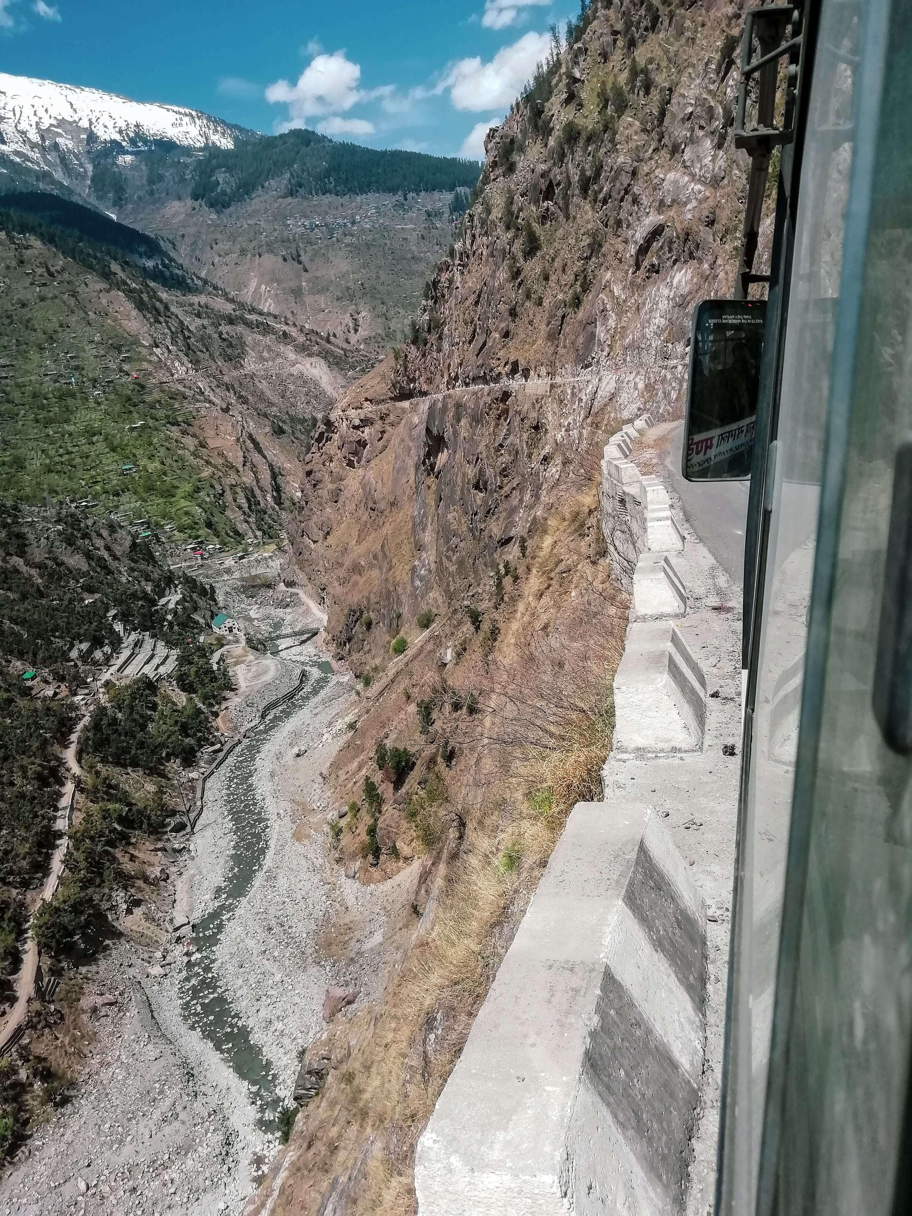 Kinnaur Road condition