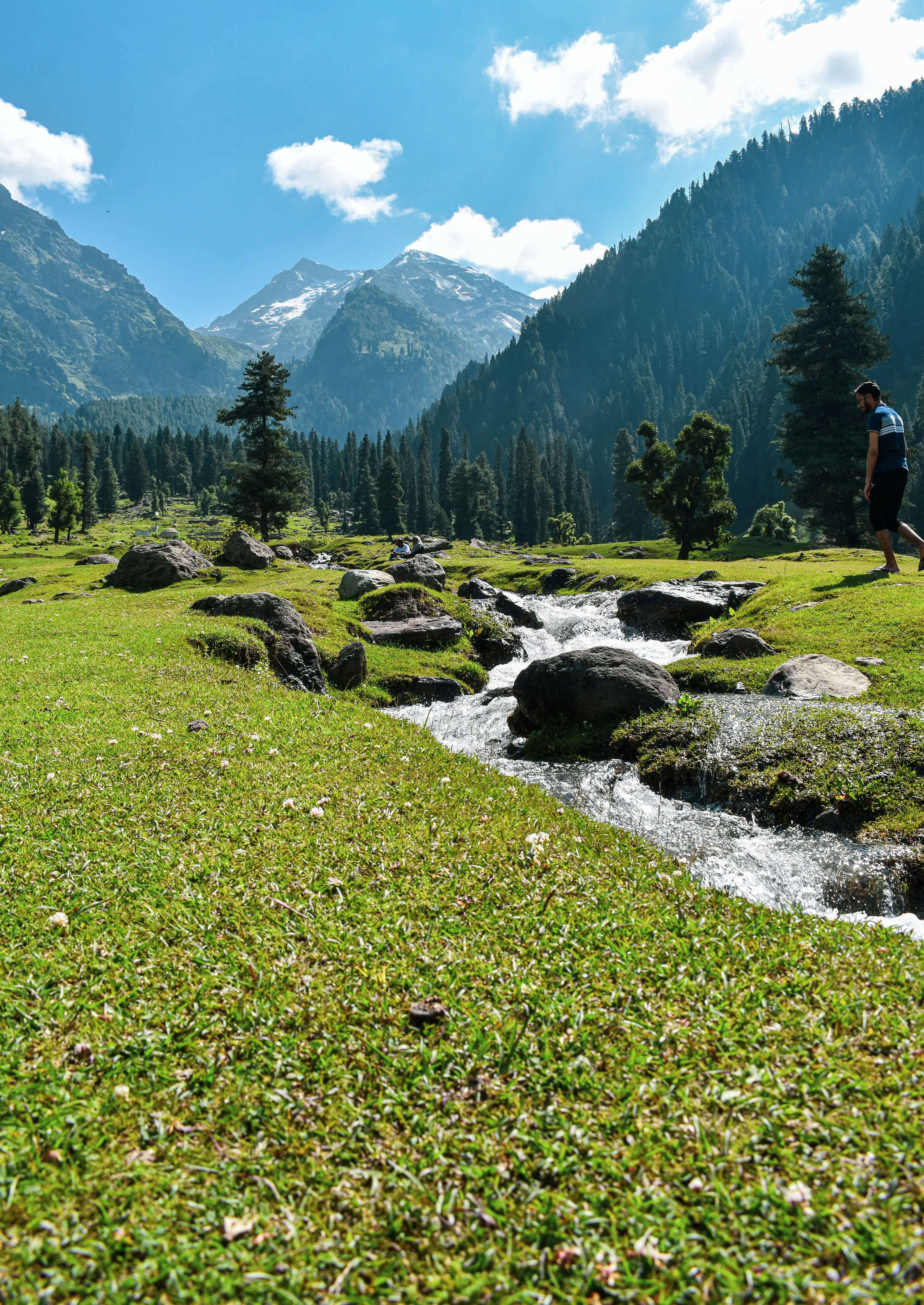 Trekking in Kashmir