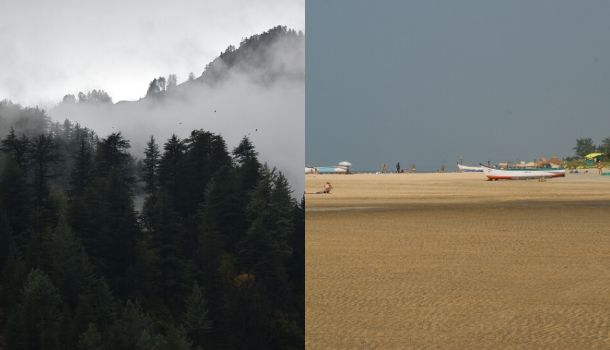 How are the Winter's in Himachal vs Goa