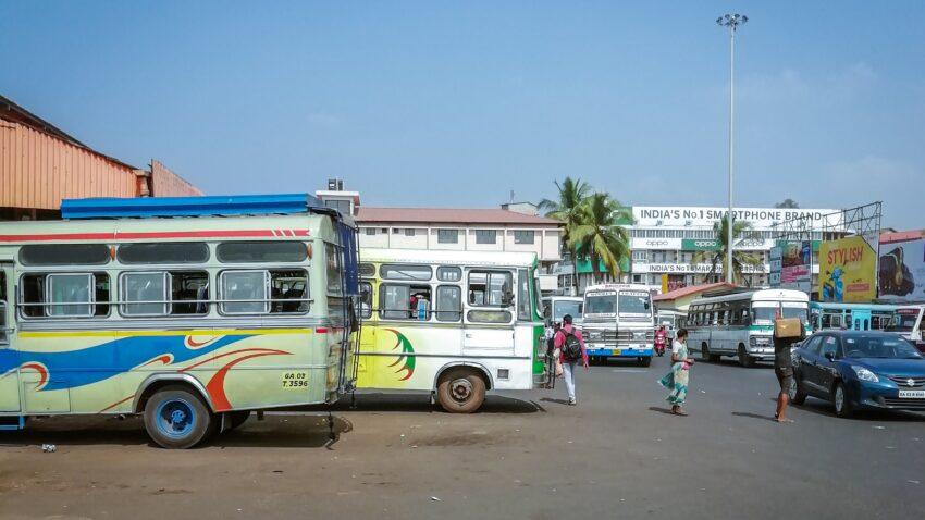 Mapusa Bus Stand Goa