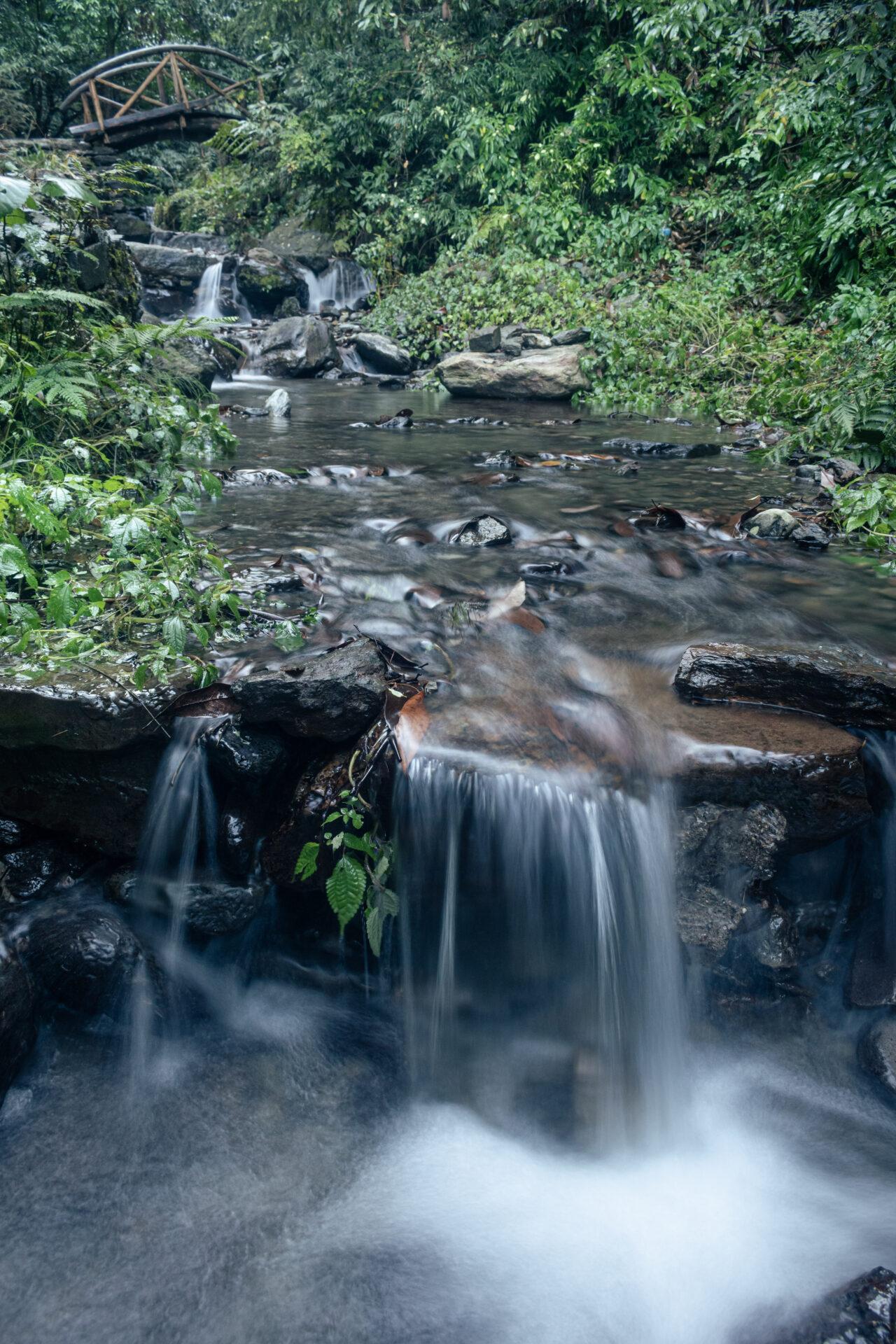Small Water Stream on the way to Jibhi Waterfall
