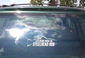 Steelhead Run Decal