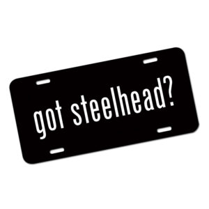 Got Steelhead License Plate