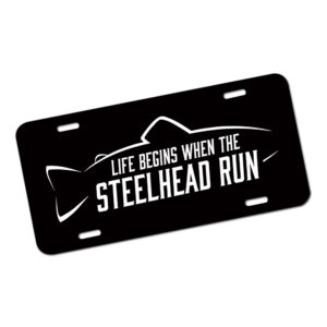Steelhead Run License Plate