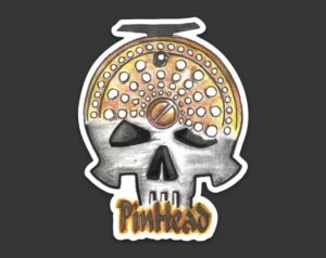 Pin Head Decal