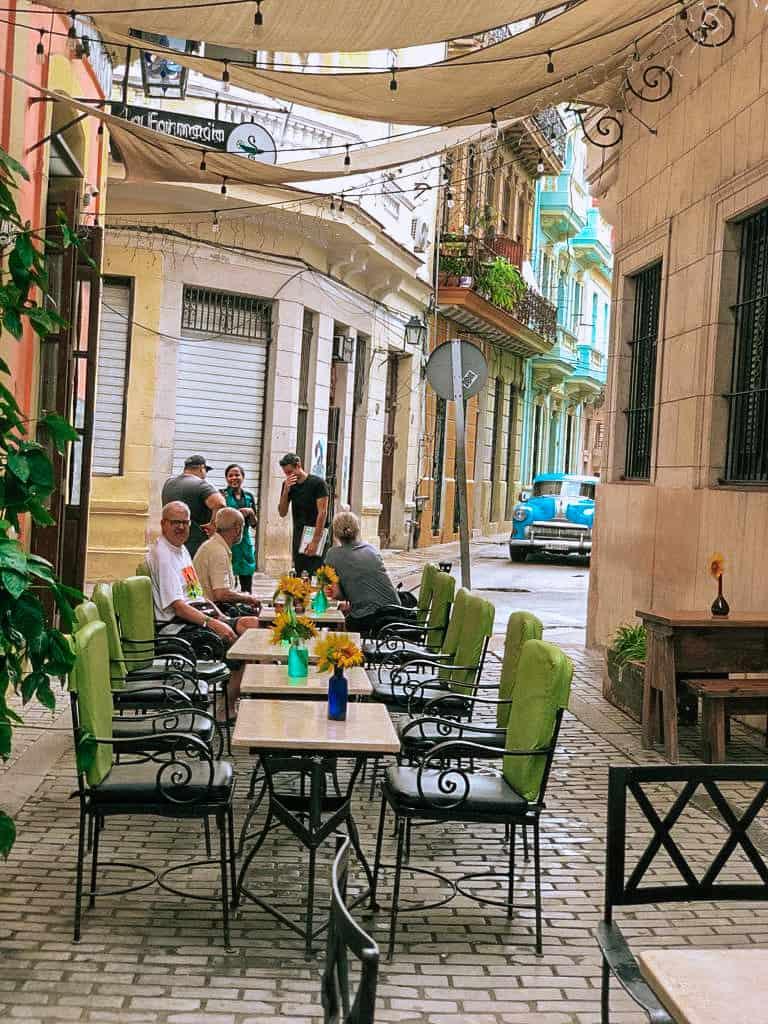 Restaurant La Farmacia Havana Cuba Callejon de los Peluqueros