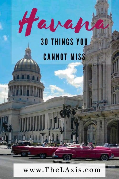 Best things to do in Havana Cuba