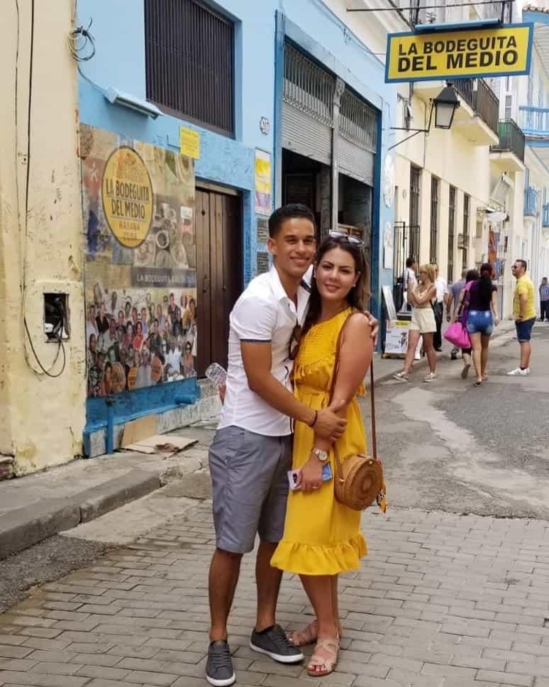 What to wear in Havana - Outside of La Bodeguita del Medio