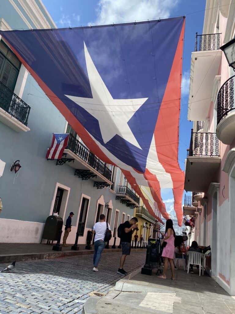 Fortaleza Street Old San Juan Puerto Rico