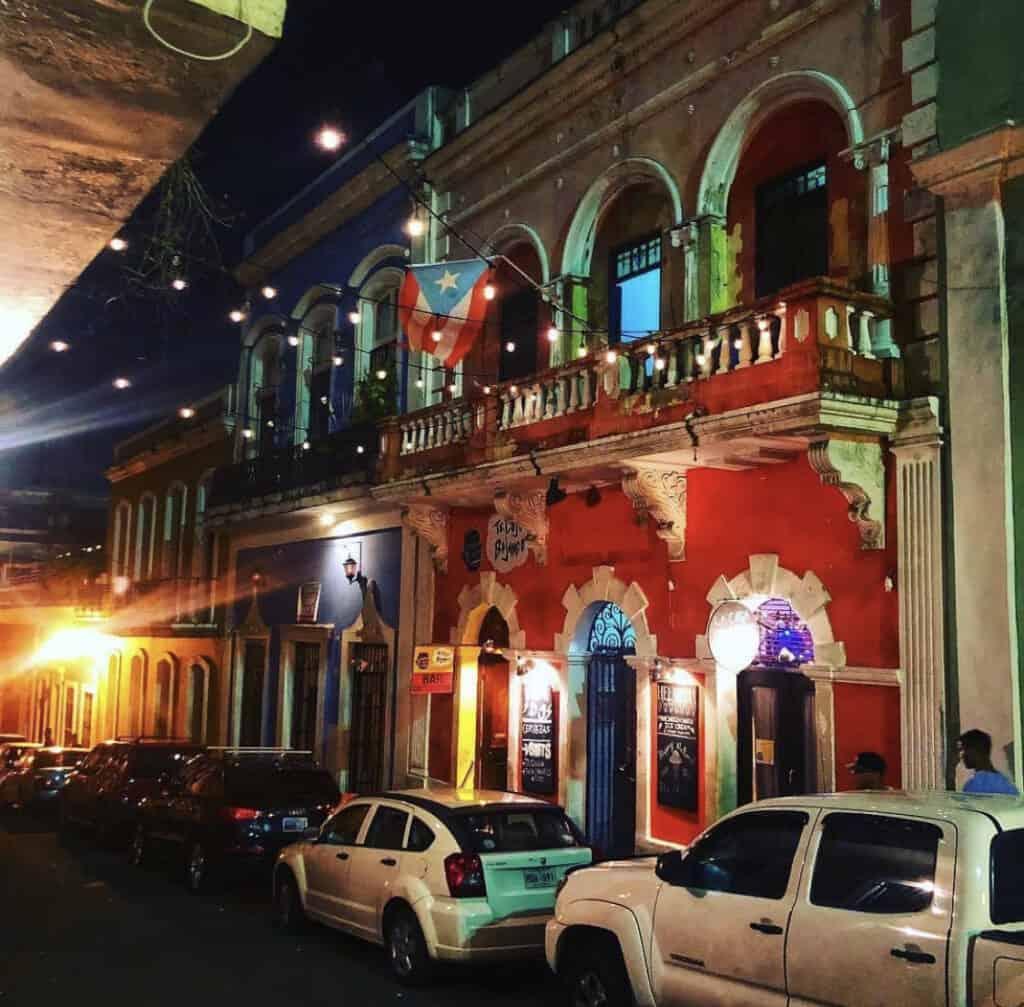 Outside of La Factoria Bar, where they filmed Despacito