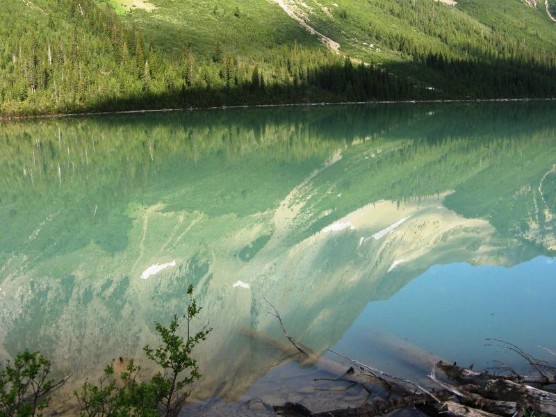 Reflection on Sherbrooke lake
