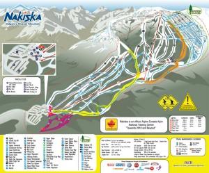 Map Of Nakiska
