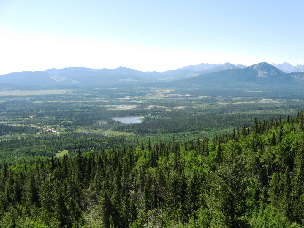 Views on the way up.Looking over Hwy # 1 to the south