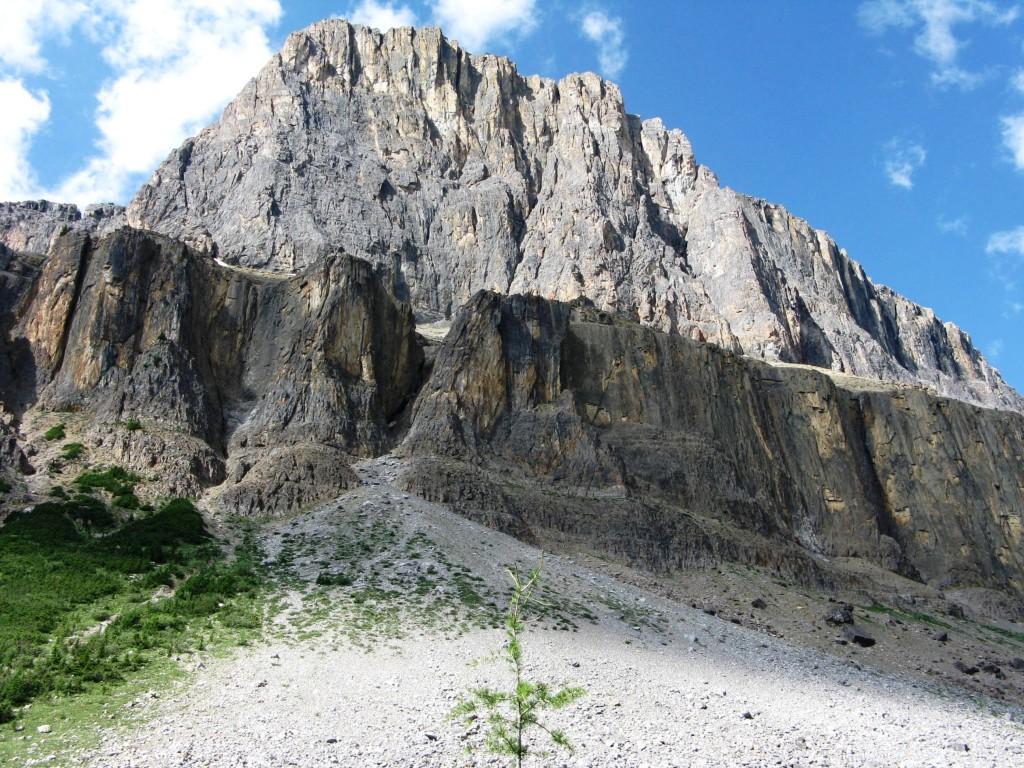 Castle Mt Wall