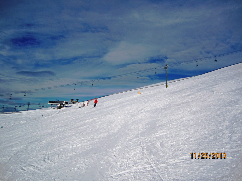 Looking across Divide to Angel Chair