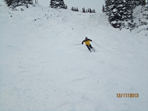 Kerry ripping it up on Donkeys Tail