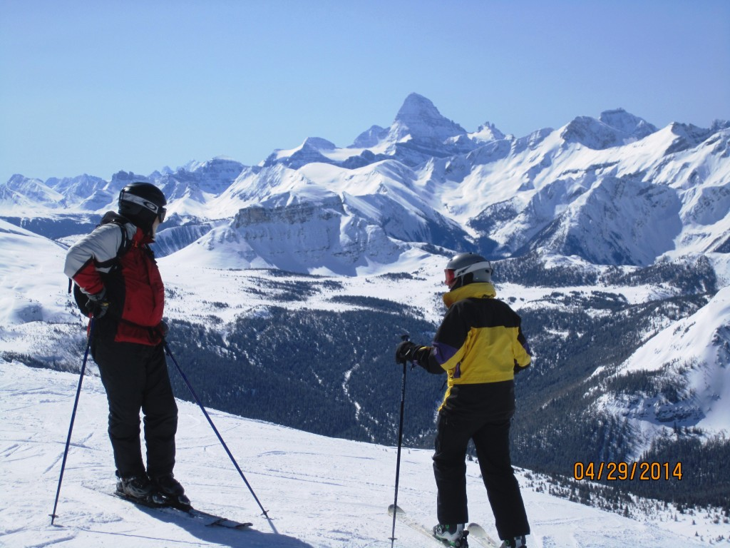 Another fine view of Mt Assiniboine