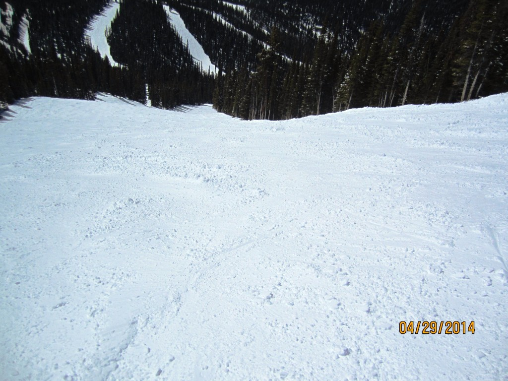 Below the cat track on Scapegoat. Goats Eye