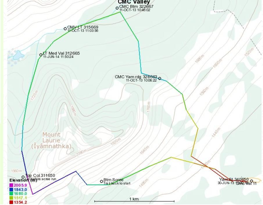 CMC Valley via Col