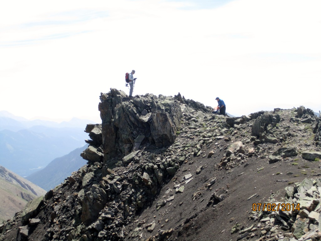 One of the two Mt Lipsett summits