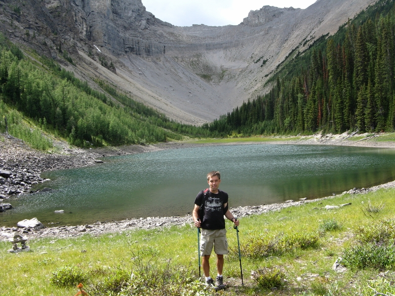 Andrew at Tryst Lake