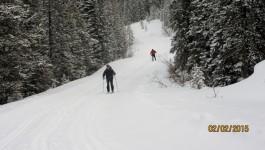 Lake O'Hara Cross Country Skiing