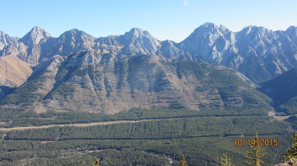King Creek Ridge from Lawson Ridge