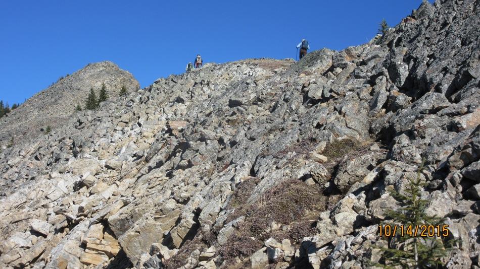 No trees great views on the lawson ridge