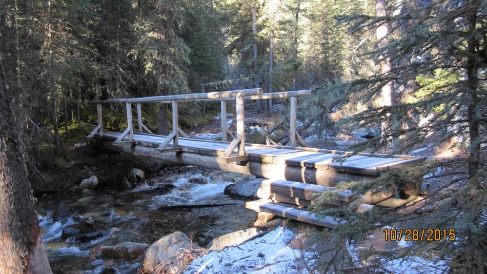 One of the ten bridges