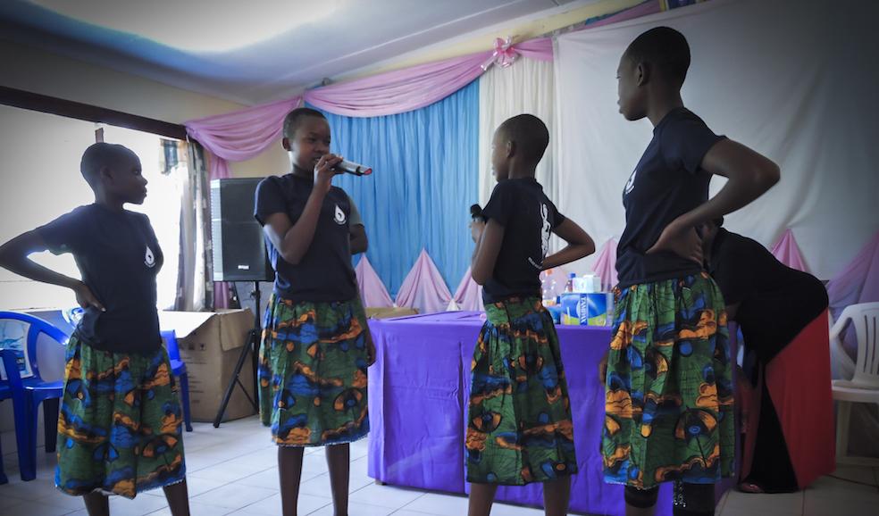 female hygiene education tanzania
