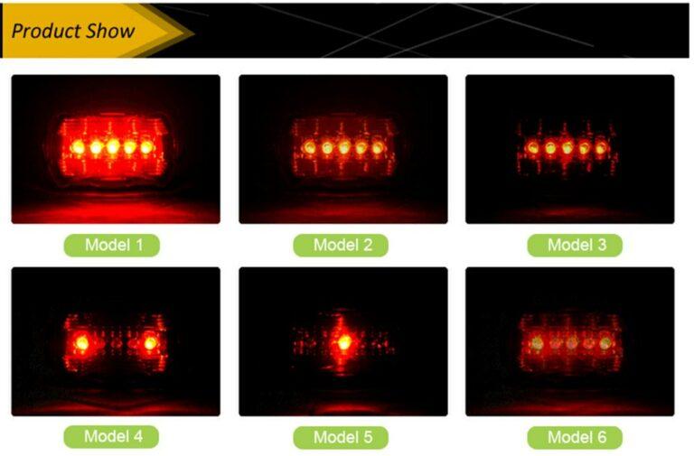 Esta Luz delantera para bicicleta de alta calidad y rendimiento, posee 5 LEDs blancos ultra brillantes, su maerial y terminaciones la hacen impermeable y durable. Se opera con un solo botón para acceder a sus 2 modos de operación diferentes: constante e intermitente. Larga vida de LED (100,000 horas). Tiene además un soporte de liberación que lo hace rápido y fácil de instalar. Esta linterna para bicicletas está alimentada por 4 pilas AAA (no incluidas). Será Su gran asistente para hacer frente al mal ambiente al aire libre en rutas poco iluminadas o nocturnas.