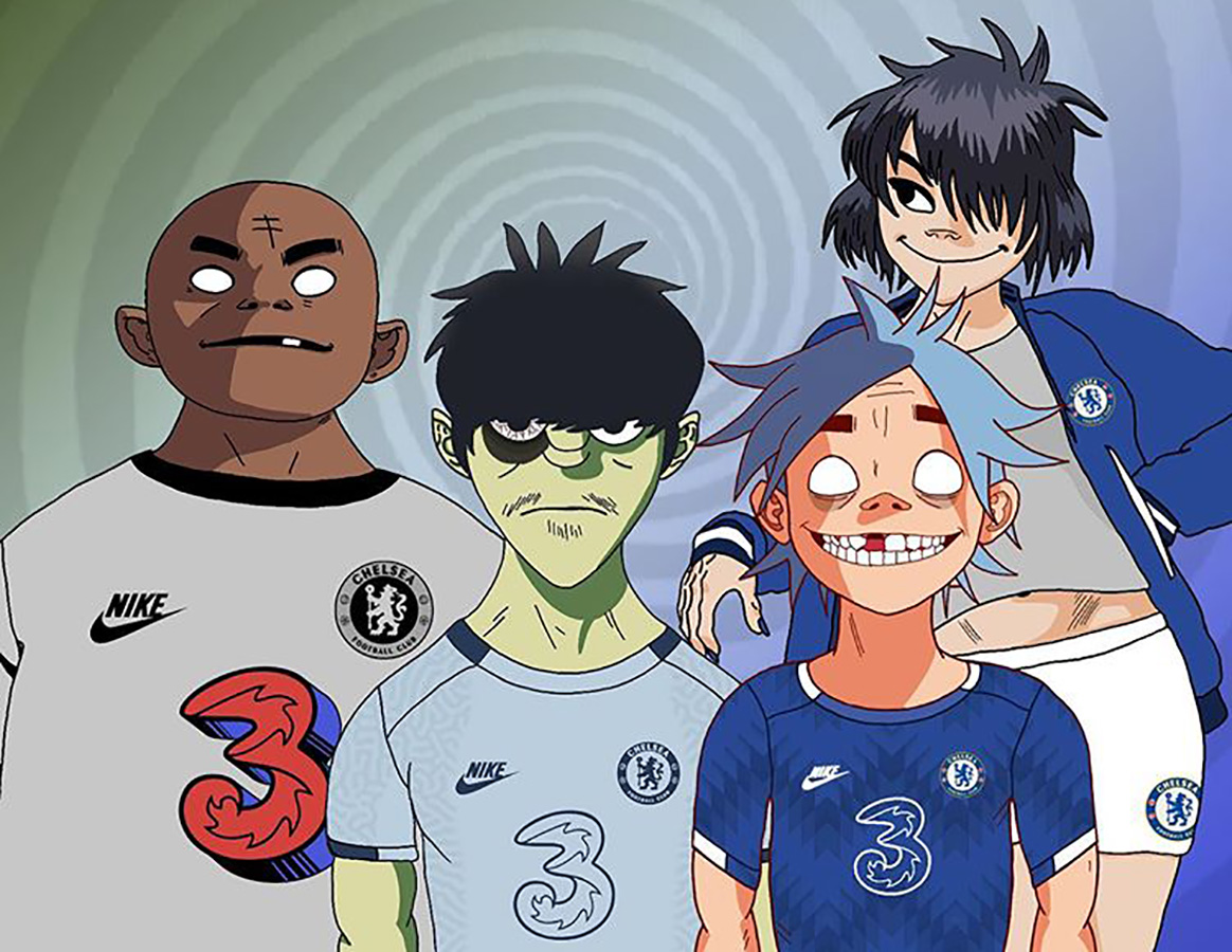 Gorillaz And Chelsea By Ben Anderson