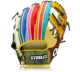 Rainbow Pack Custom Pro Series Infielders Glove - 11.50 Inch RHT Rainbow Pack Custom Pro Series Infielders Glove - 11.50 Inch RHT Rainbow Pack Custom Pro Series Infielders Glove - 11.50 Inch RHT Rainbow Pack Custom Pro Series Infielders Glove - 11.50 Inch RHT RAINBOW PACK CUSTOM PRO SERIES INFIELDERS GLOVE - 11.50 INCH RHT