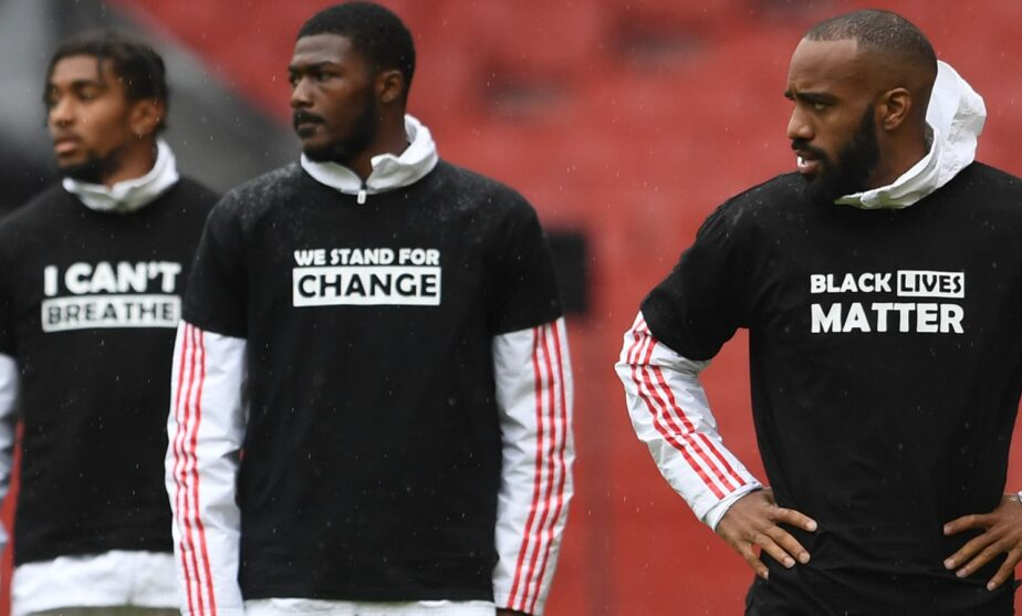 Premier League to Replace Player Names on Kits with Black Lives Matter 3
