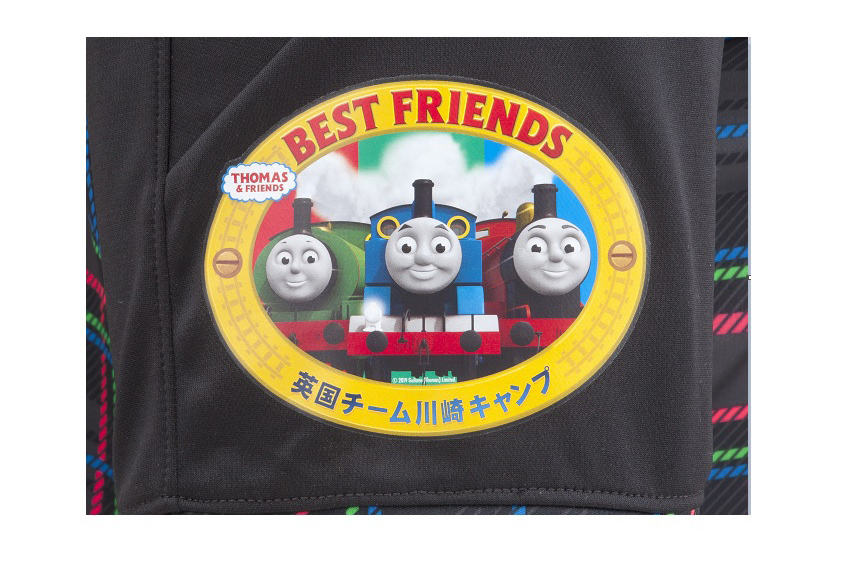 kawasaki frontale j1 league team thomas the tank engine warm up jersey release 03