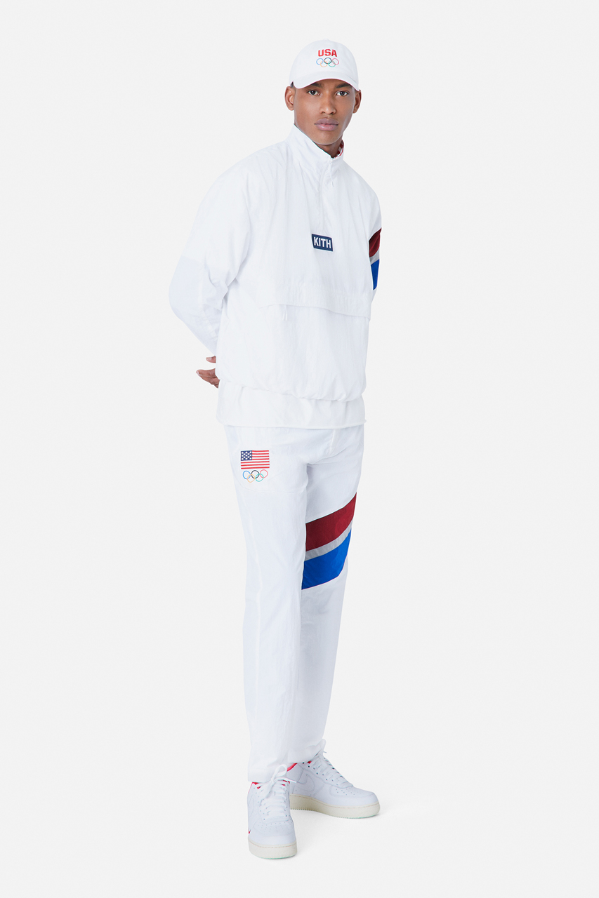 kith team usa tokyo olympic games tracksuit collection 1