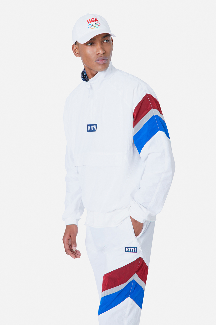 kith team usa tokyo olympic games tracksuit collection 2