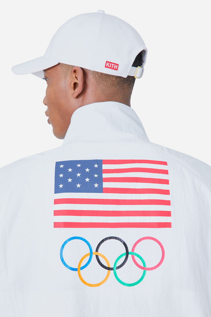 kith team usa tokyo olympic games tracksuit collection 4