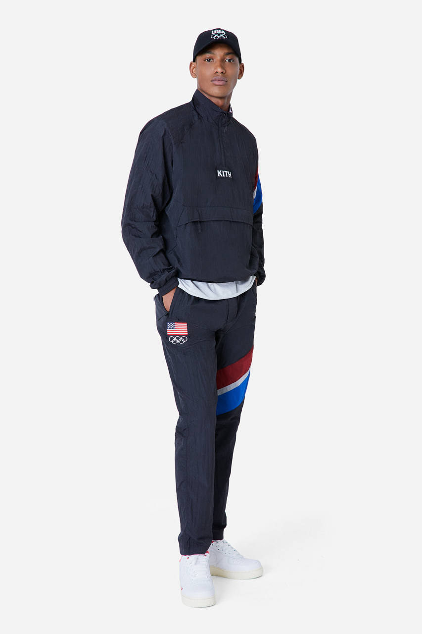 kith team usa tokyo olympic games tracksuit collection 5