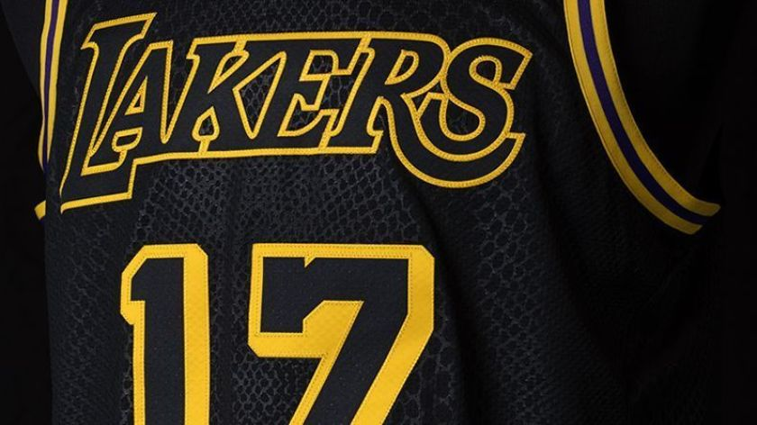Lakers to wear Mamba jerseys following first round of playoffs