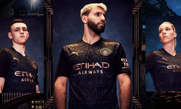 Man City New Away Kit