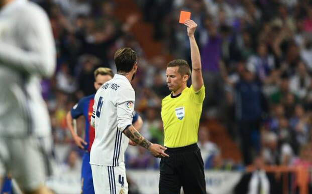 Red Carded for Intentionally Coughing 1