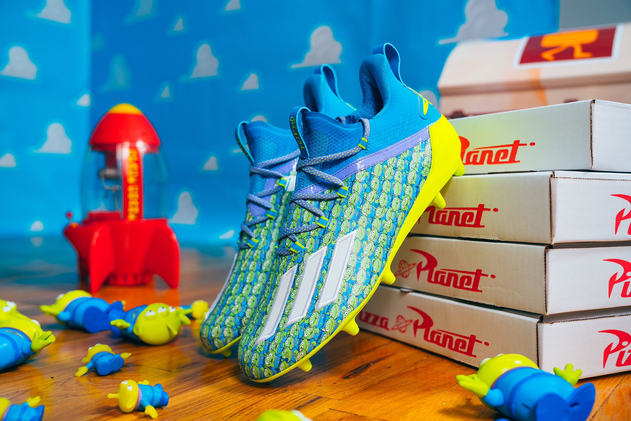 Adidas Football US Pixar Cleats 1