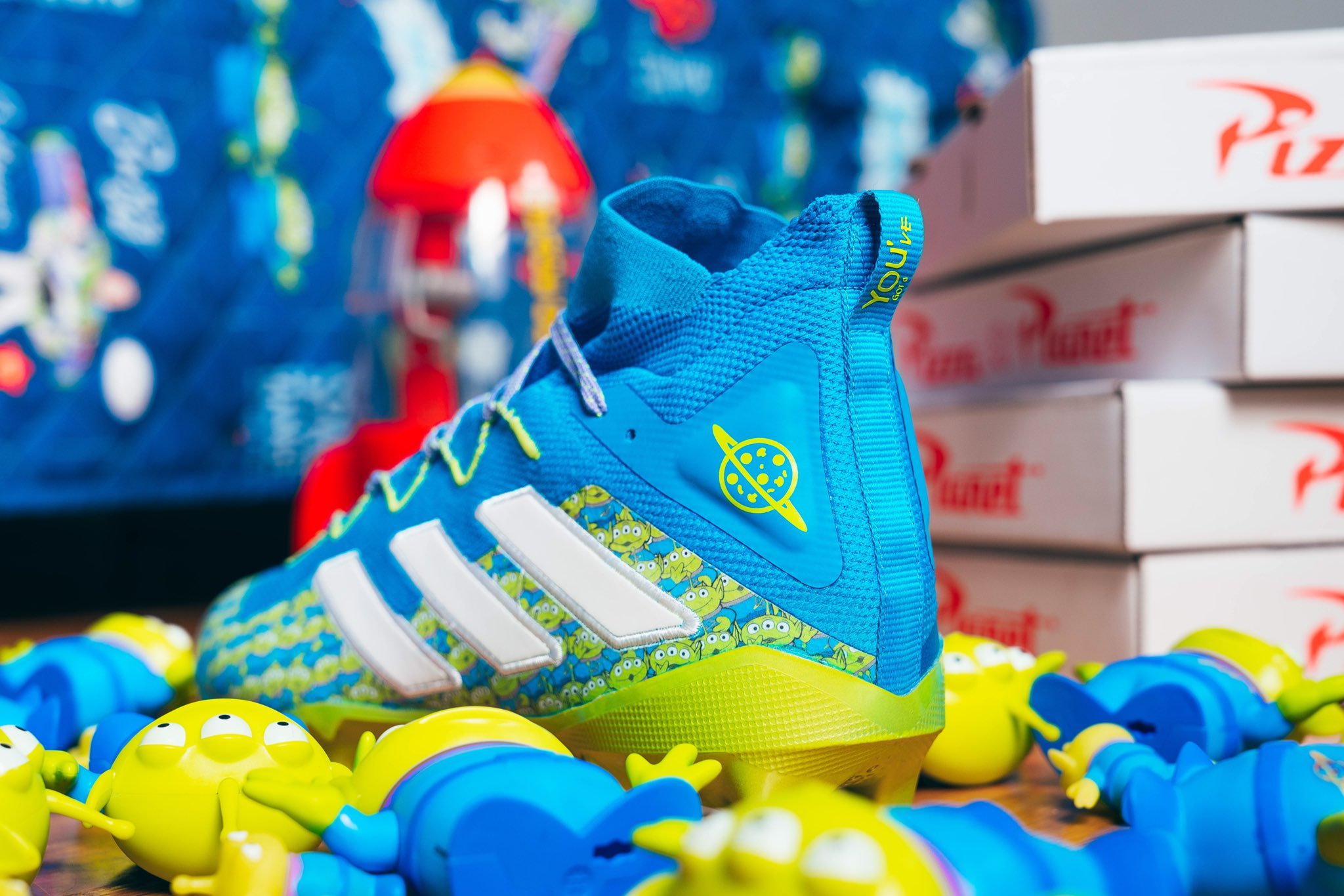 Adidas Football US Pixar Cleats 4