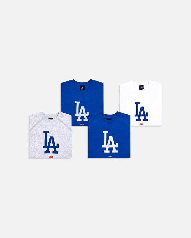 Kith Release MLB Dodgers Collection 6