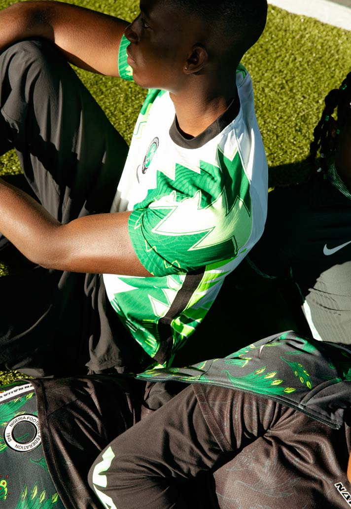Nigeria National Soccer Team Collection 5