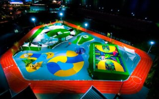 nike tokyo playground sports by art opening 001