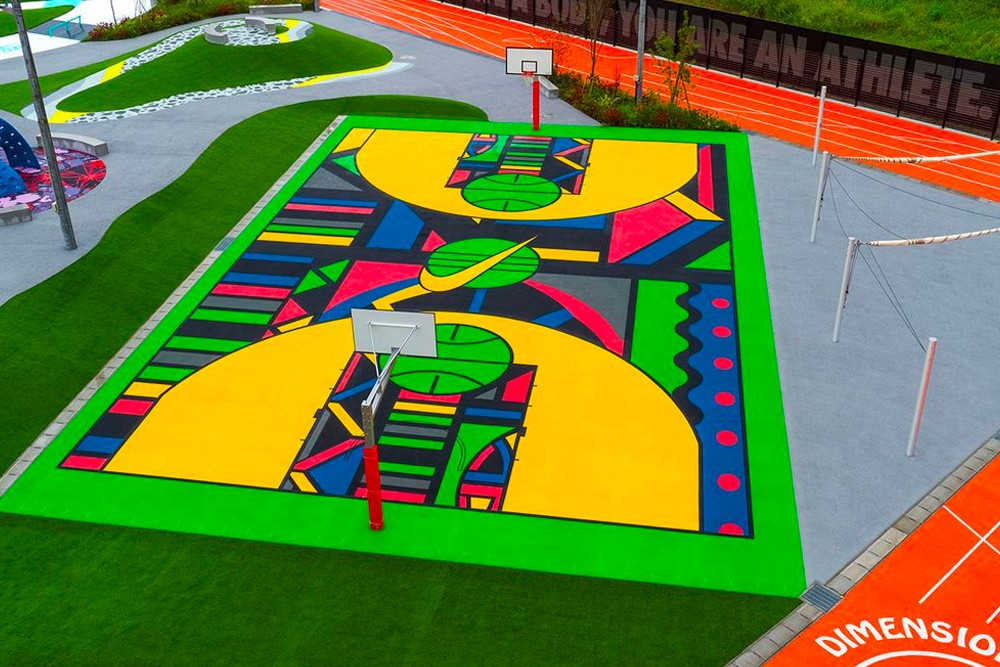 nike tokyo playground sports by art opening 002