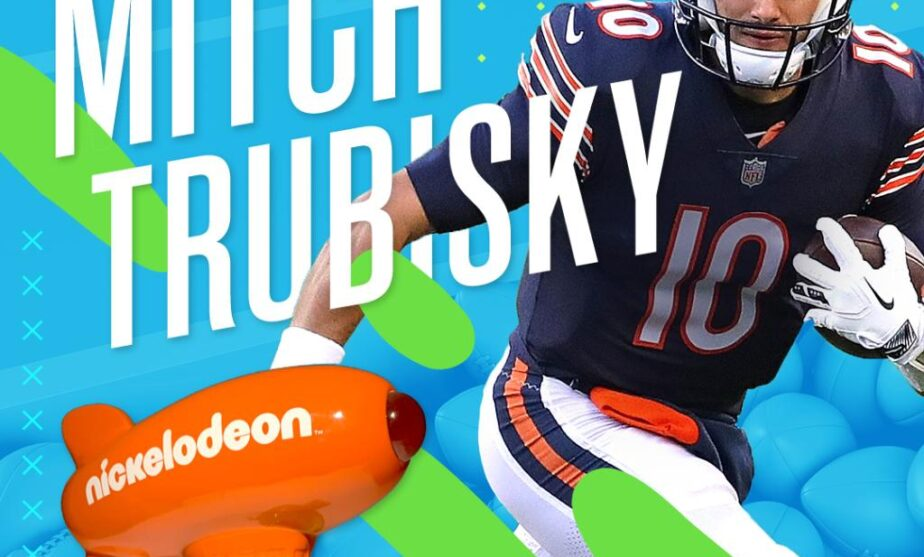 Despite the loss, Mitch Trubisky is the first ever Nickelodeon Valuable Player